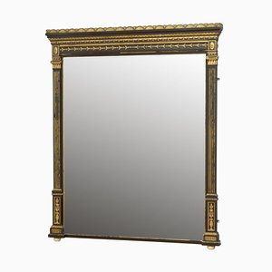Large English Overmantel Mirror