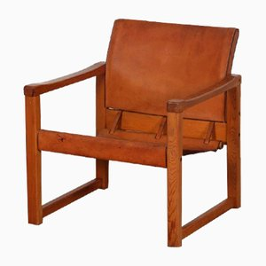 Leather Diana Chair by Karin Mobring for Ikea, 1970