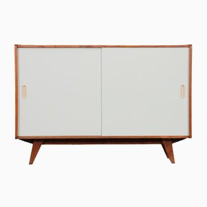 Vintage Oak Model U-452 Chest of Drawers by Jiri Jiroutek for Interier Praha, 1960