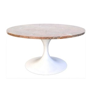 Mid-Century Modern Tulip Base Marble Coffee Table by Honsel Germany, 1960s