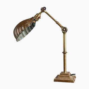 Brass Desk Lamp from Dugdills