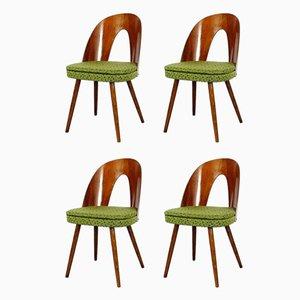 Esszimmerstühle von Antonín Šuman für Tatra, 4er Set