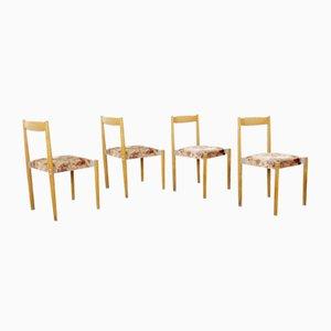 Esszimmerstühle von Miroslav Navratil, 4er Set