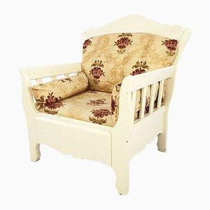 Wooden Armchair, 1980s