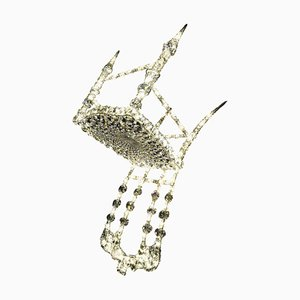La Chaise Suspendier aus Kristallglas von Geraldine Gonzalez