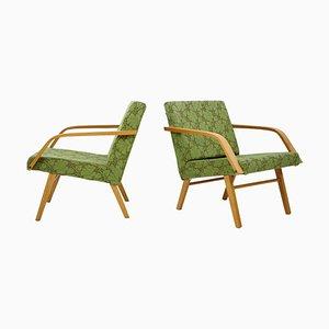 Tschechoslowakischer Vintage Armlehnstuhl von TON