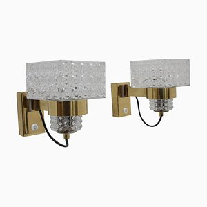 Mid-Century Wall Lamps from Lidokov, 1970s, Set of 2