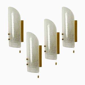 Wandlampe aus Muranoglas von JT Kalmar für Cor