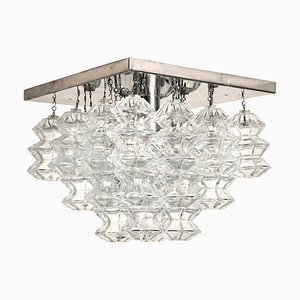 Pagoda Chandelier by Kalmar for ISA, 1970s