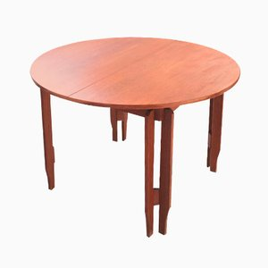 Swedish Teak Extendable Dining Table, 1960s