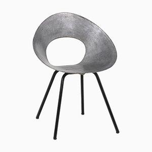 Metall 132U Stuhl von Donald Knorr, 1950's