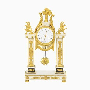 Directoire Period Portico Clock