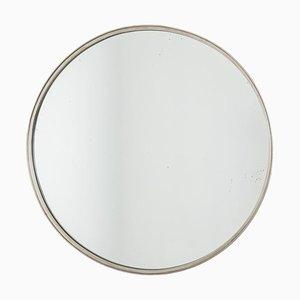 Spiegel aus versilbertem Messing, 1970er