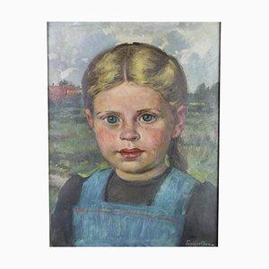 Ernst Hase Girl Portrait