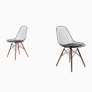 Wire DKW Chairs by Eames for Modernica, Set of 2