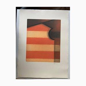 Lithograph, Icon Flagman, 1999