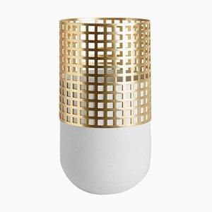 Light Gray Mia Tall Vase by Serena Confalonieri