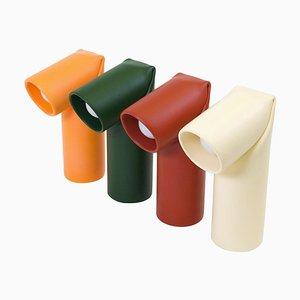 Bourrelet Keramik Tischlampen von Helder Barbosa, 4er Set