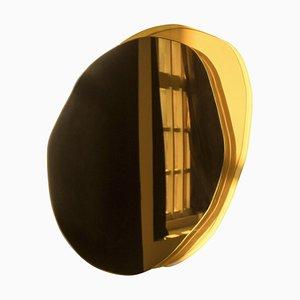 Specchio Ombrée piccolo scolorito a mano di Laurene Guarneri