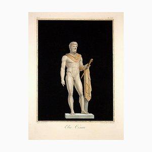 Augustine Tofanelli, Elio Caesar, Original Etching, 1794