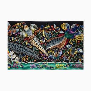 """Tapestry by René Perrot, """"La Grande Cascade"""""""