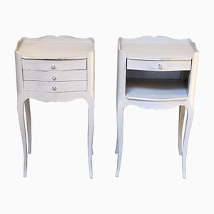 French Bedside Cabinets, Set of 2