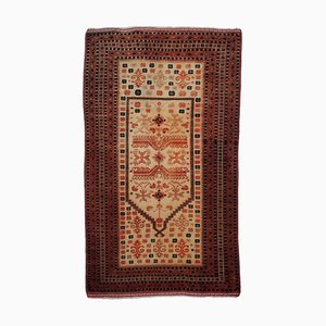 Gold & Beige Turkmen Carpet