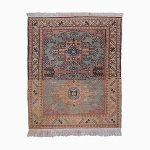 Antiker Türkischer Teppich in Rosa