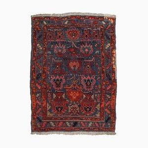 Dark Blue Floral Carpet