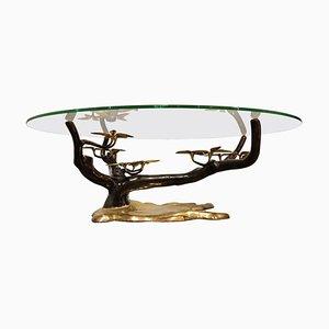 Bronze Bonsai Couchtisch von Willy Daro, 1970er