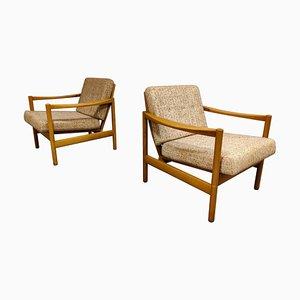 Mid-Century Armlehnstühle von Knoll Antimott, 1960er, 2er Set