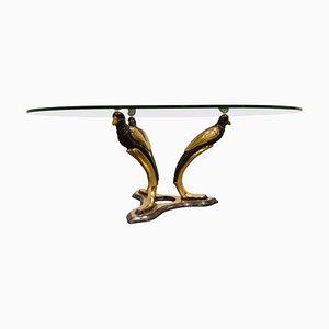 Brass Bird Coffee Table, 1970s