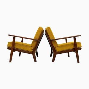 Mid-Century Model Ge-88 Easy Chairs in Teak from Getama, Denmark, 1960s, Set of 2