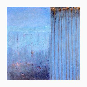 Winter Watching, Contemporary Abstract Painting, 2020