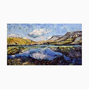 Llyn Y Fan Fach, Contemporary Landscape Painting, 2016