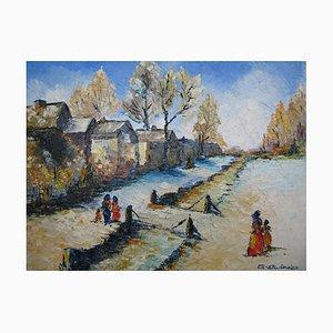 Le Petit Pont du Village, 1991