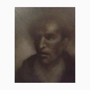 Portrait, Kohle auf Papier, 2017