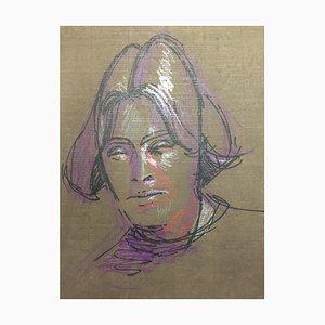 Retrato de una mujer, años 60