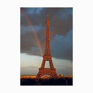 Rainbow at the Eiffel Tower, 2008