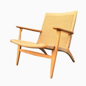 Eichenholz CH25 Chair von Hans J Wegner für Carl Hansen & Son