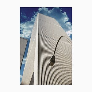 Lamppost at the Old World Trade Center, 1986