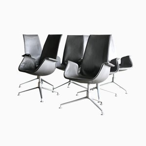 High Back Bird Chairs from Fabricius and Kastholm for Kill International, Set of 6