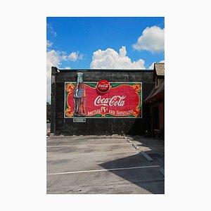 Coca-Cola Wandgemälde, Fayetteville, 2011