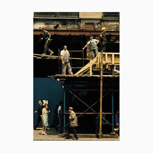 Baustelle in Manhattan, 1981