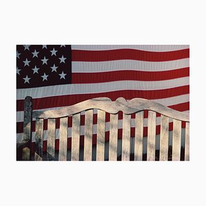 Flag and Bench, Connecticut, 2005