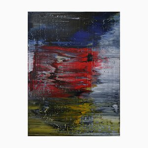 Abstract, Red White Blue N°150, 2018