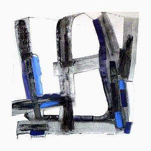 Grand Haiku Cobalt Laque 2, 2017