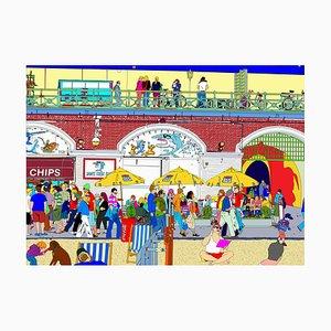 Brighton Boardwalk, Vereinigtes Königreich, 2021