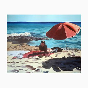 Ombrello Formentera rosso, 2021