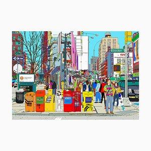 Bleecker Street und Lafayette, NY; 2020